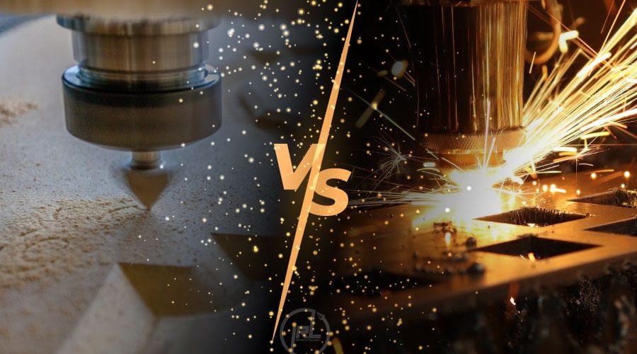 Perbedaan Mesin Laser Dengan CNC Router
